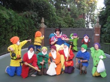白雪姫と14人の小人
