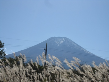 山梨県からの富士山