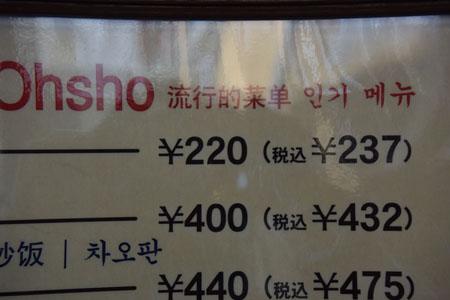 餃子の王将四条大宮店