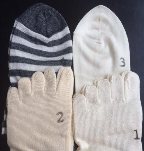 冷えとり靴下,メリヤクー,ボーダー柄,sale
