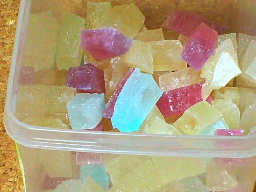 乾かし 方 糖 琥珀