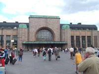 ヘルシンキ中央駅横側