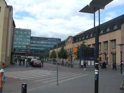 ヘルシンキ中央駅とホリデイイン