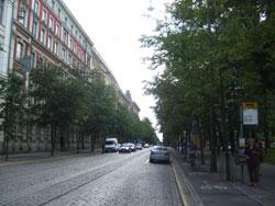 Bulevarden通り