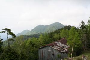 雲取ヒュッテから白岩山 06-17-2007