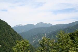 大観峰から鹿島槍、五竜岳