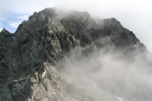 剣山頂直下の難所