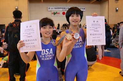 金・銀メダルの今枝紗來・澤井舞綾もクイーンズカップが楽しみだ!