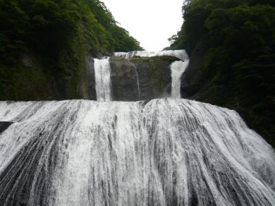袋田の滝 第一観瀑台から撮影