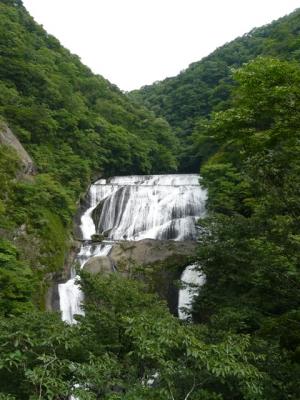 袋田の滝 第二観瀑台から撮影