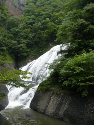 袋田の滝 吊り橋から撮影