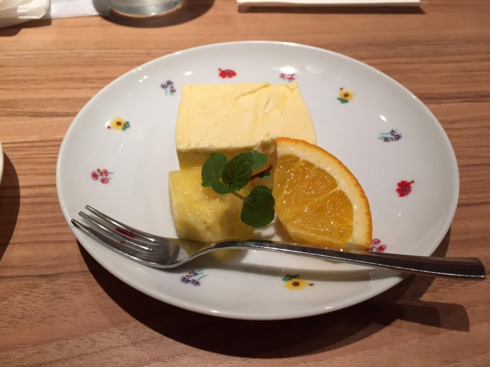 アトリエ・ド・フロマージュ 南青山店 / オレンジのムース