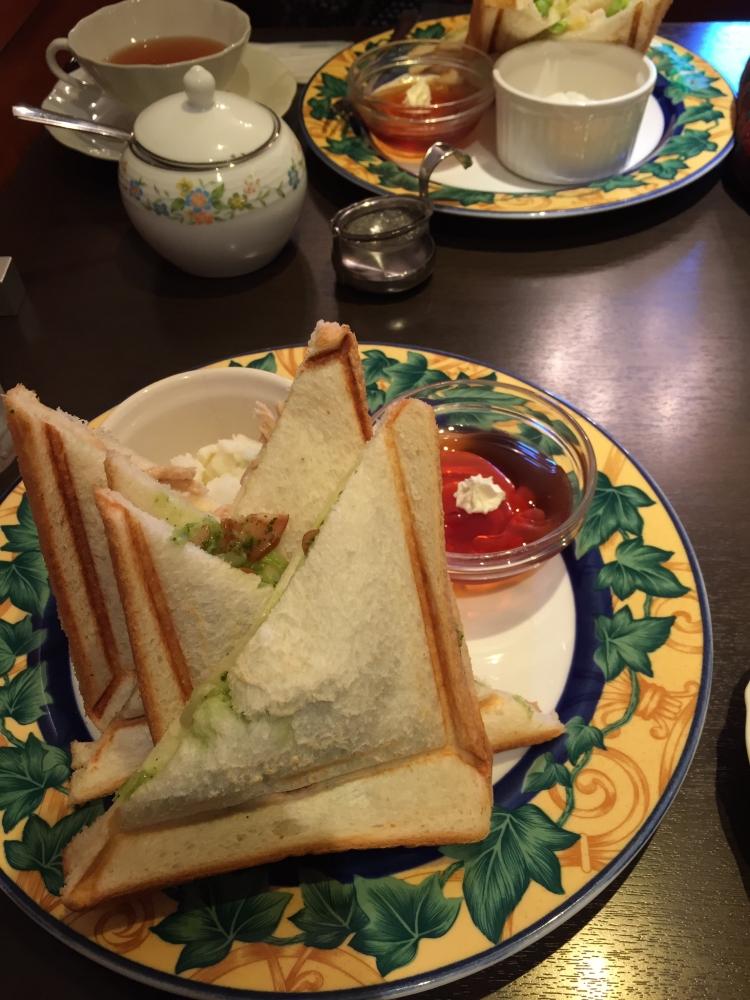 青山ティーファクトリー / サンドウィッチSet (2種類)
