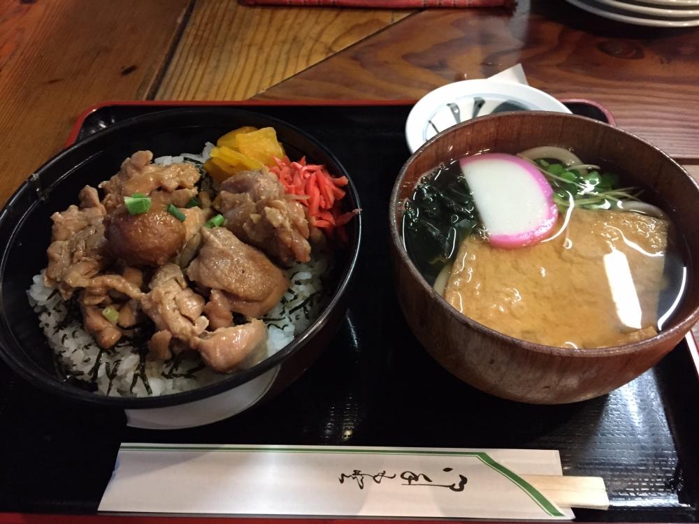 焼鳥 Yoshi (由) / 鳥照り焼き丼+ミニきつねうどんセット