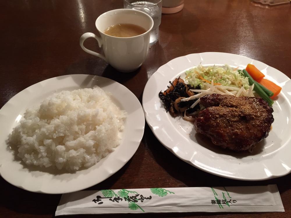 Aoyama Cafe & Food セラ (Cellar) / てりやきハンバーグ