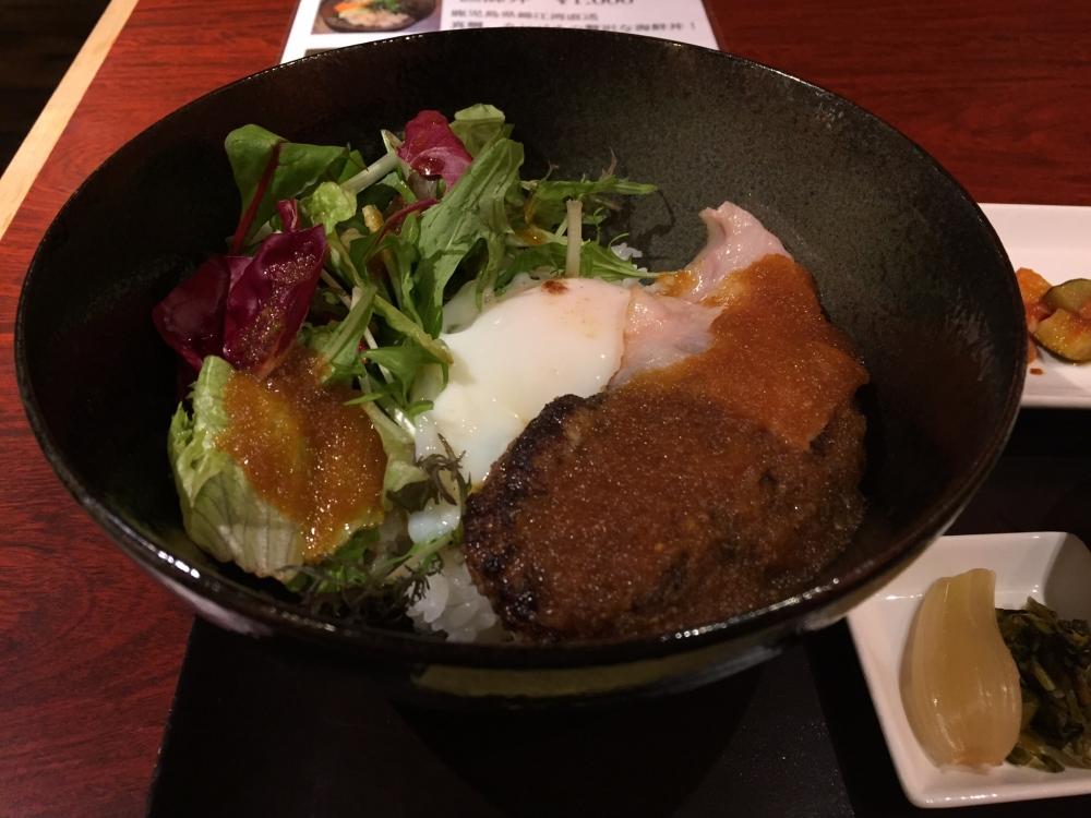 さつま古謝 / ロコモコ丼