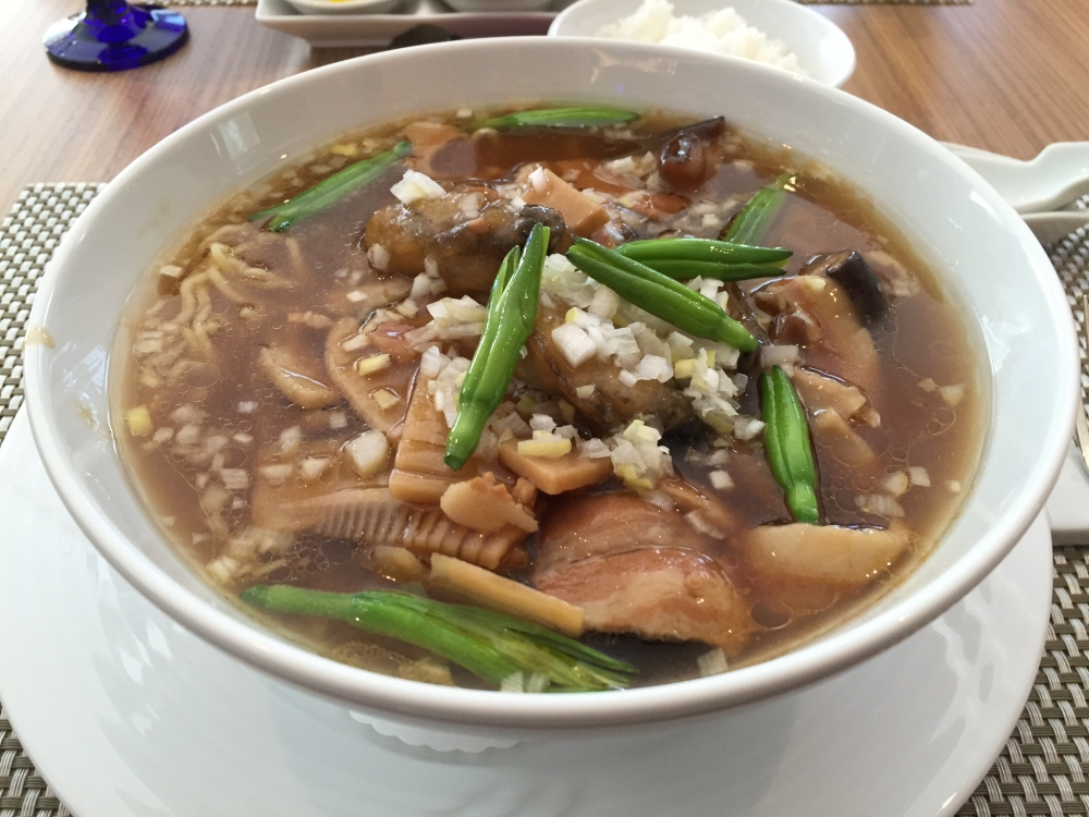TEPIA ニューオータニ Tokyo / 旬の牡蠣スープそば