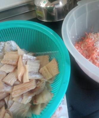 鱈と塩・麹・にんじん