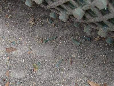人工芝破片