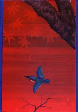 翡翠色の鳥