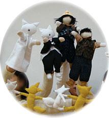 オリジナルの人形たち