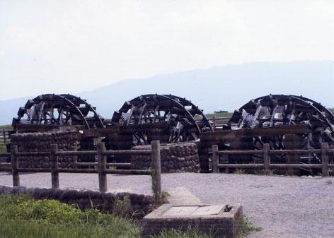 2018渡さん朝倉市水車