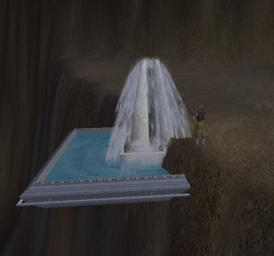 へんな噴水
