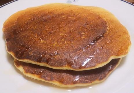 パン ケーキ オートミール