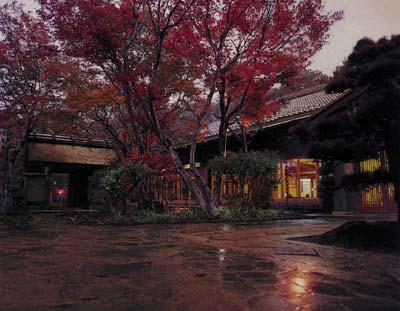 福知山温泉入口