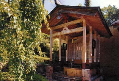 福知山温泉桶風呂