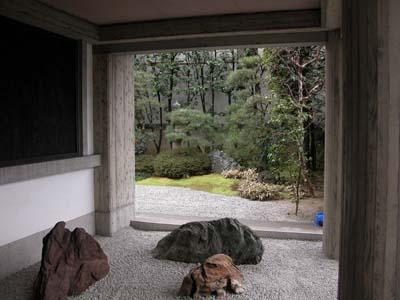 正行寺入口庭