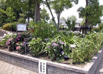 もりやま芦刈園花壇