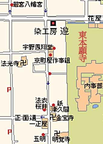 津久間さん地図