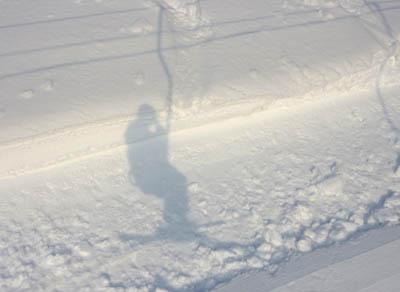 雁が原スキー場影
