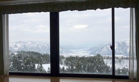 スキージャム勝山窓