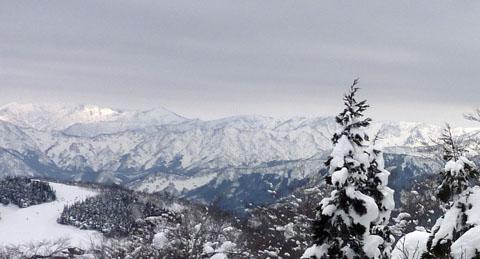 スキージャム勝山雪山