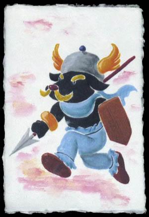 遊ワン:剣闘士