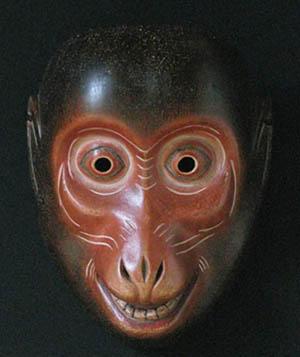 狂言:猿面