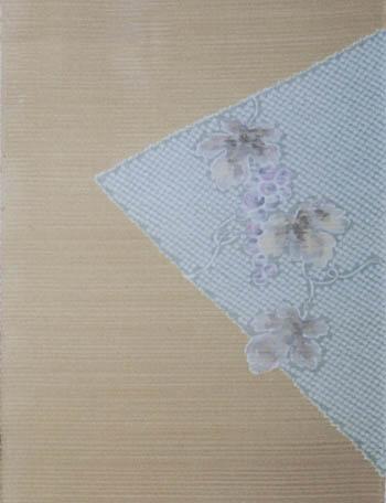 疋田に描き葡萄