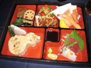 お弁当…(*^^)v