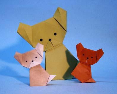 クリスマス 折り紙 折り紙 犬 折り方 : blog.kogayabungu.jp