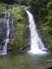銀山温泉奥にある滝