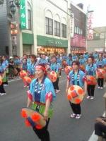 花笠踊りパレード