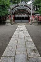 新宿区西早稲田にある水稲荷神社。