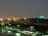 ホテルを出たところでのディズニーランドの夜景が見えたので1枚撮りました。