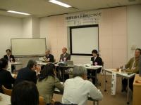 第2分科会には福島大学まちづくりサークルの学生もパネリスト参加。