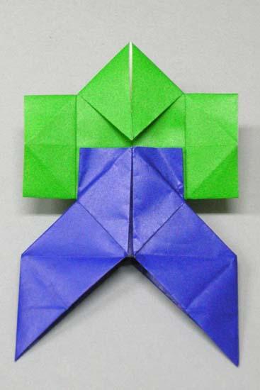 折り紙の 折り紙 やっこ : blog.kogayabungu.jp