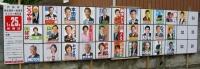 2009年1月戸田市議会議員選挙に立候補した人のポスター