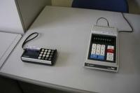 小型で安くなった衝撃の「答え、一発カシオミニ」のCMがあったときの電卓で12,800円でした。