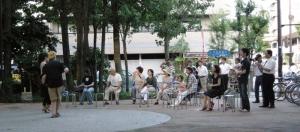 ケチカ・ブラスカの演奏会。毎月最後の土曜日に開催しています。